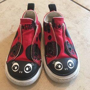 Toddler Ladybug Converse